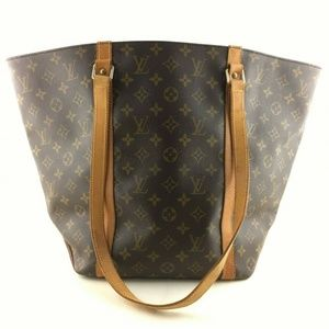 Auth Louis Vuitton Sac Shopping Tote Bag #831L22